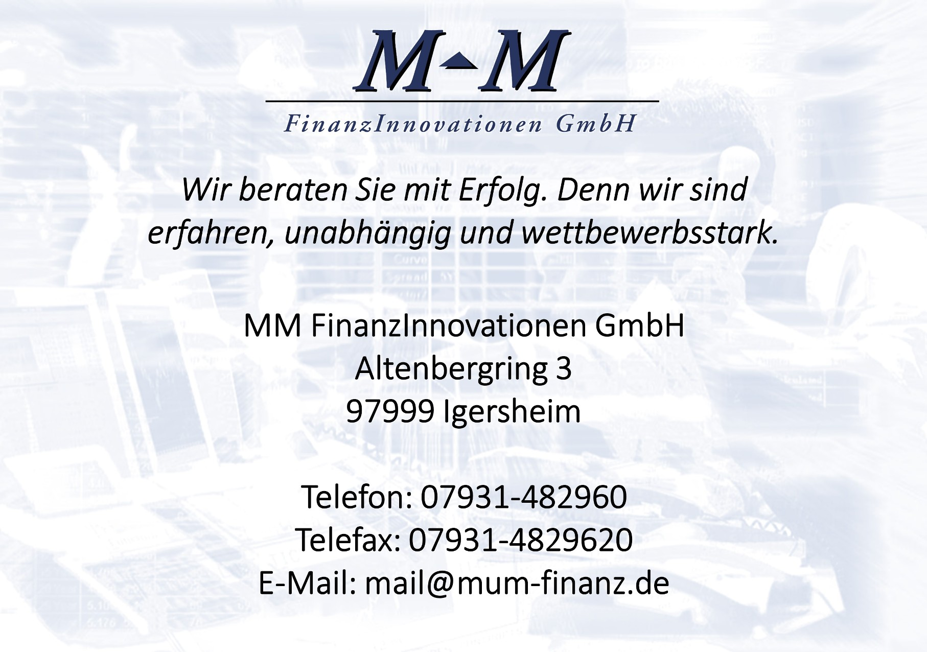 MM FinanzInnovationen GmbH